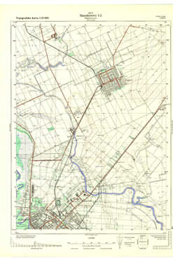 Topografska Karta 1 25000 Smederevo