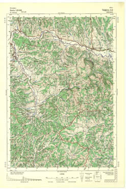 Download Topografska Karta 1 25000 Valjevo