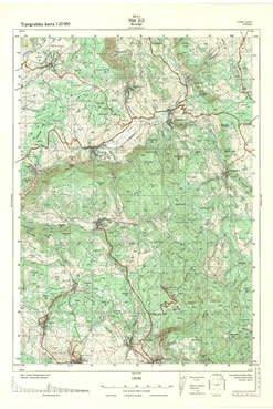 Topografska Karta 1 25000 Nis